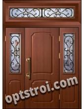 Входная металлическая тамбурная дверь в подъезд модель - ТП-010