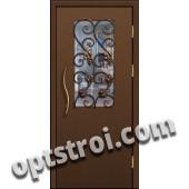Входная металлическая тамбурная дверь в подъезд модель - ТП-007
